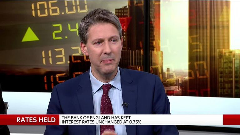 Nomura economist George Buckley appears on Sky's Ian King Live (19/12/2019)