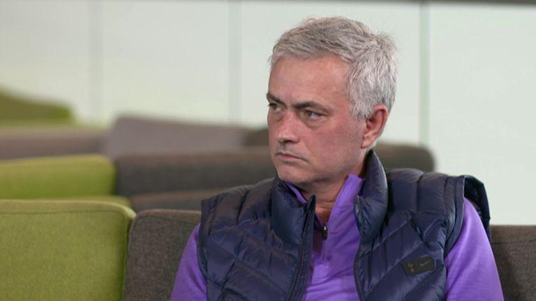 Jose Mourinho tells Sky Sports he would sign a new Tottenham contract if he were Christian Eriksen or Jan Vertonghen