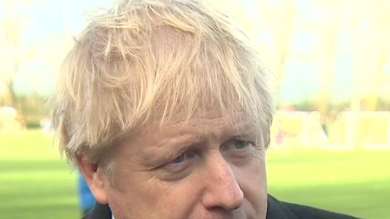 Boris Johnson has said that leaked documents detailing talks between the US and UK over the NHS are 'just a distraction'