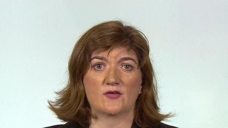 Nicky Morgan spoke to Sky News about Russian interference in the UK election.