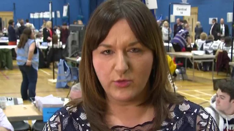Labour candidate Ruth Smeeth