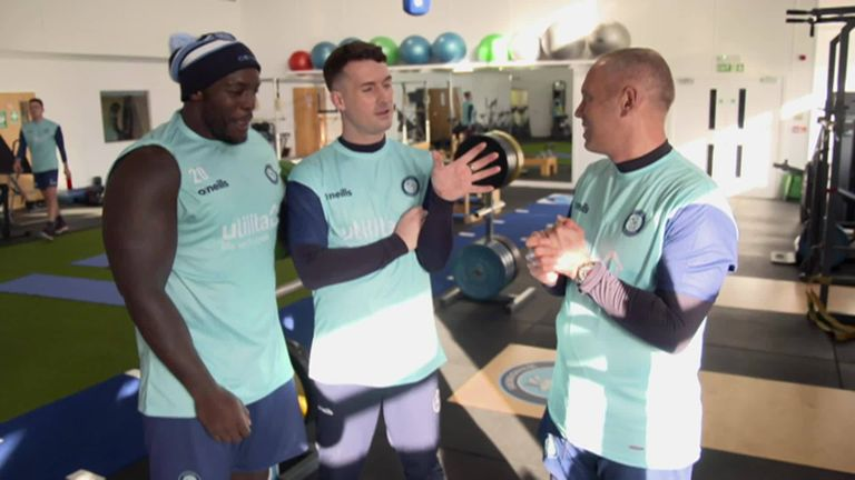 Find out what happened when Judge Rinder was welcomed in by Wycombe Wanderers