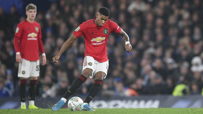 Having already scored a superb 16 times this season for club and country, we take a look at Marcus Rashford's best strikes so far this campaign