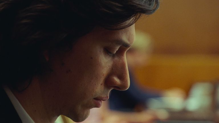 Adam Driver stars alongside Scarlett Johansson in Noah Baumbach's Marriage Story. Pic: Netflix