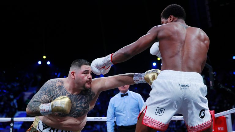 Andy Ruiz Jr v Anthony Joshua - IBF, WBA, WBO & IBO World Heavyweight Titles
