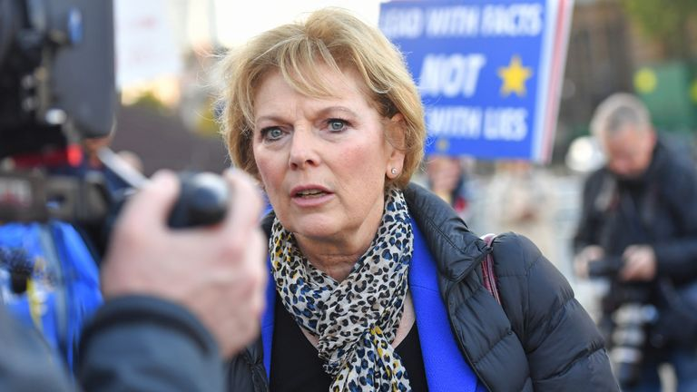 Anna Soubry said she felt 'frightened' by Mura's actions