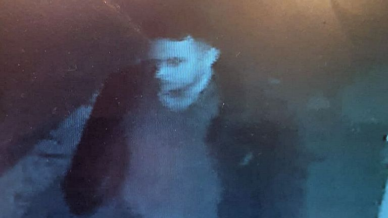 Last image of Anthony Knott has been released by police. Pic: Sussex Police