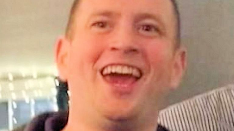 Anthony Knott was last seen wearing a black long-sleeved top. Pic: Sussex Police