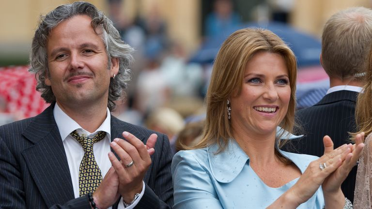 Ari Behn, seen here in 2011 with his then wife, Princess Louise of Norway