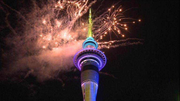 New Zealand fireworks