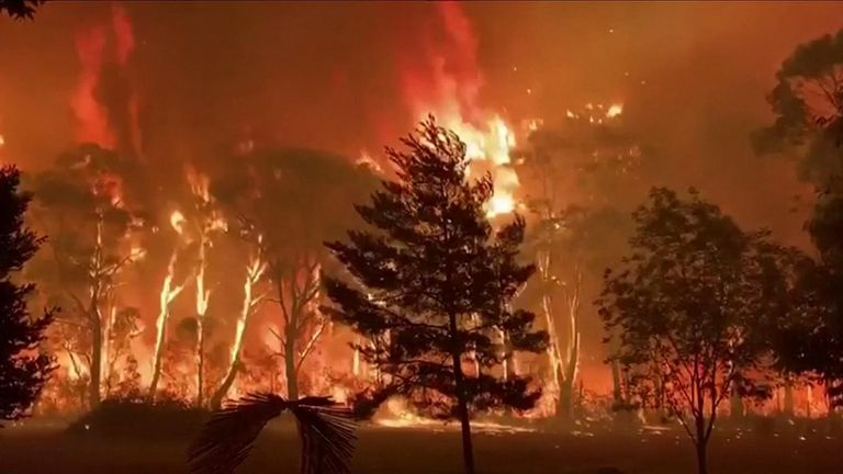 Bushfires have killed at least four people, burnt about 2.5 million acres of farmland and bush and destroyed more than 400 homes.