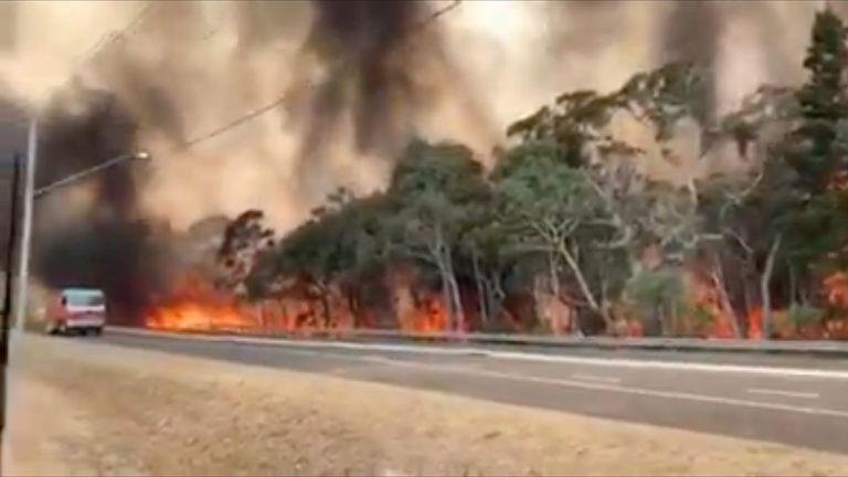 The fires are set to worsen in New South Wales