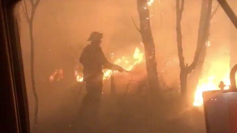 Bushfires in Australia still