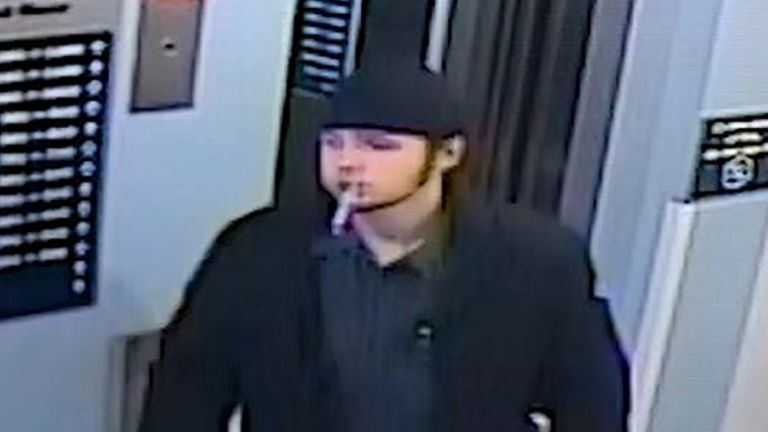 Ayoub Majdouline was seen on CCTV at a Travelodge on the night before Jaden Moodie's death