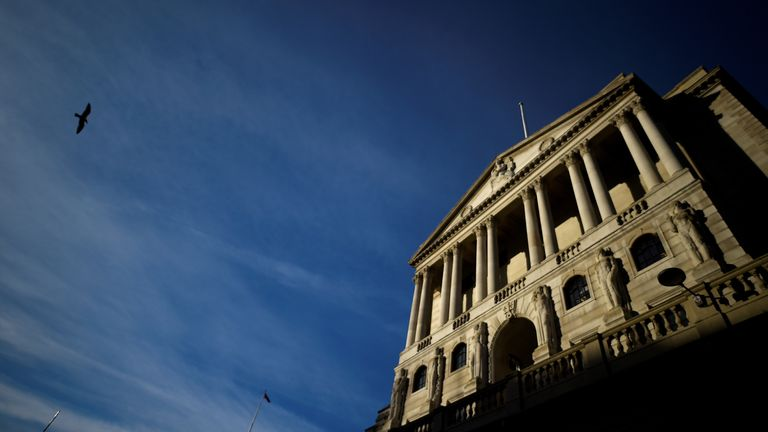Bank of England still