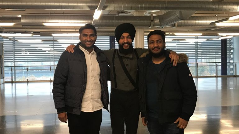 Amir Iqbal, Jaspreet Singh, and Parvez Pathan are students at Birmingham City University