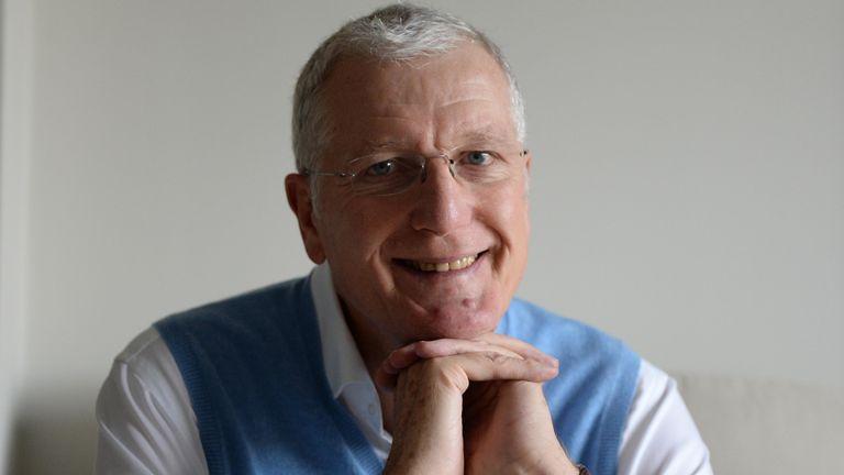 Bob Willis in 2015