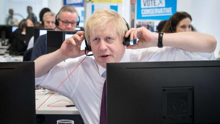 Boris Johnson will be visiting Labour's heartland ahead of the vote