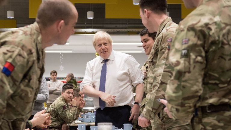 It is the UK's largest operational deployment in Europe