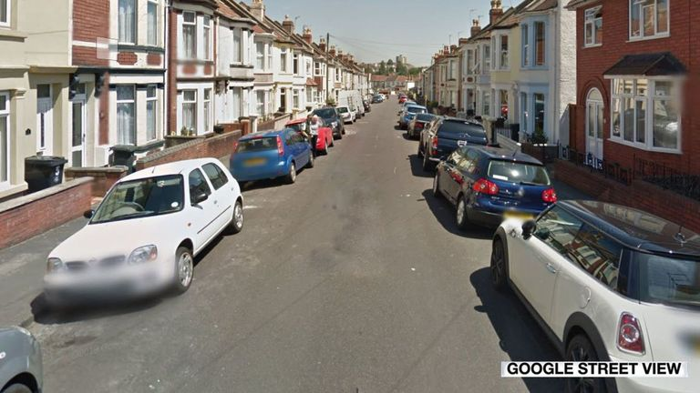 The 17-year-old was found with a stab wound to the chest in Mansfield Street, Bedminster