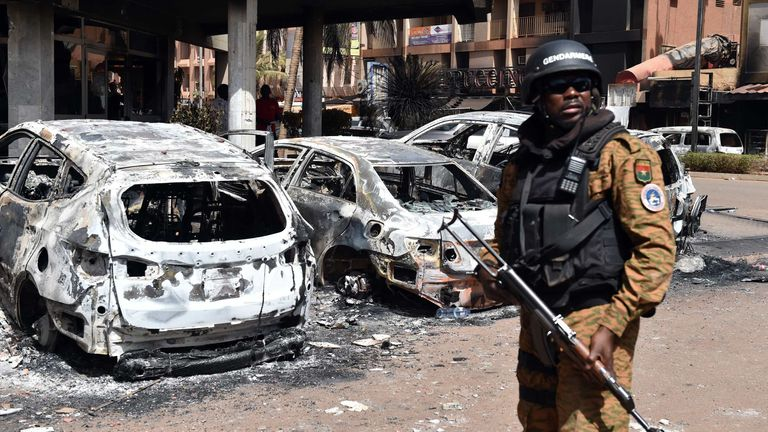 The January 2016 attack in Ouagadougou left 30 people dead