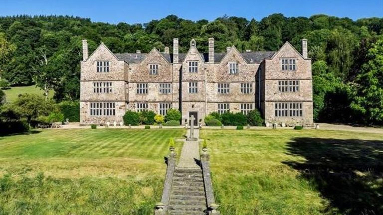 Canonteign Manor in Christow, Exeter. Pic: fineandcountry.com
