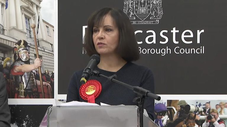 Labour's Caroline Flint looses her seat after 22 years