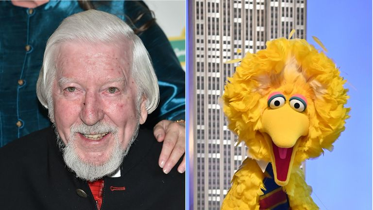 Caroll Spinney was the voice of Big Bird from 1969 until his retirement in 2018