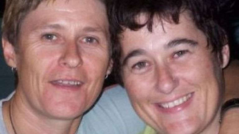 Tamra McBeath-Riley (L) and Claire Hockridge (Pic: NT Police)