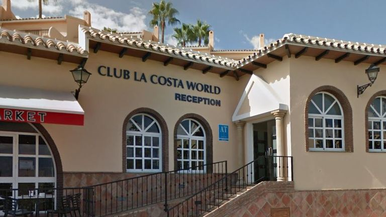 Club La Costa World Pic: Google Streetview