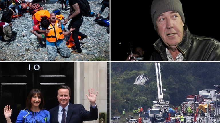 2015 was a seismic year for Britain and Europe