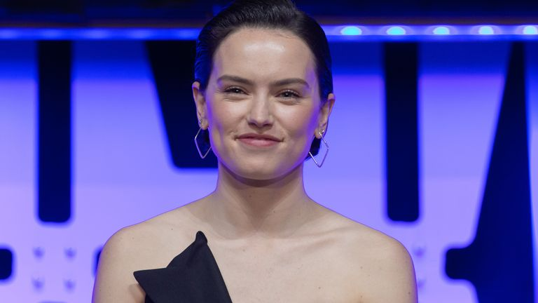 Star Wars actress Daisy Ridley
