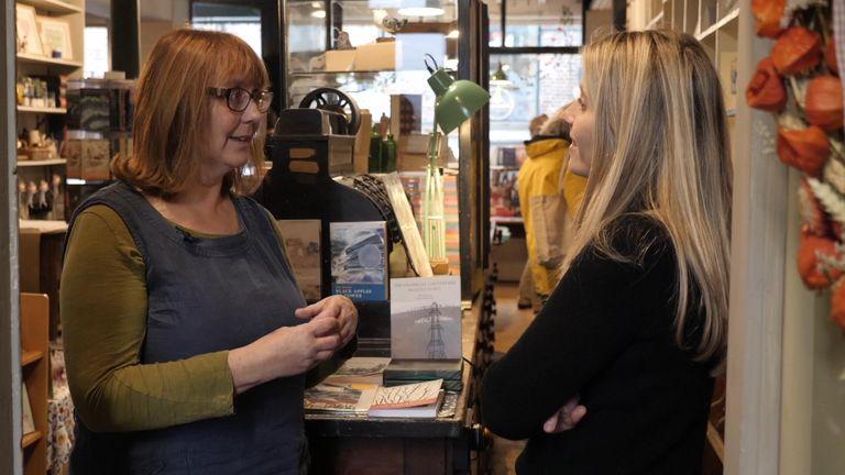 Poet Deborah Alma is the brainchild behind the business
