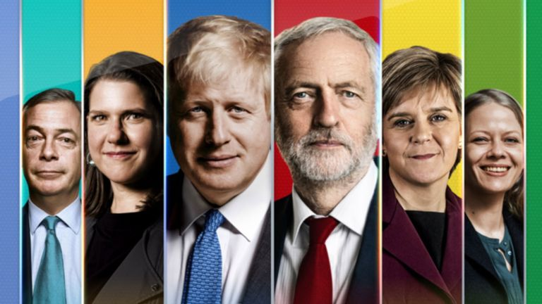 Polls close on the general election 2019