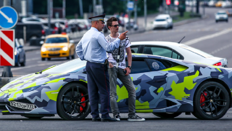 Yakubets purchased a sports car with his stolen funds. Pic: NCA
