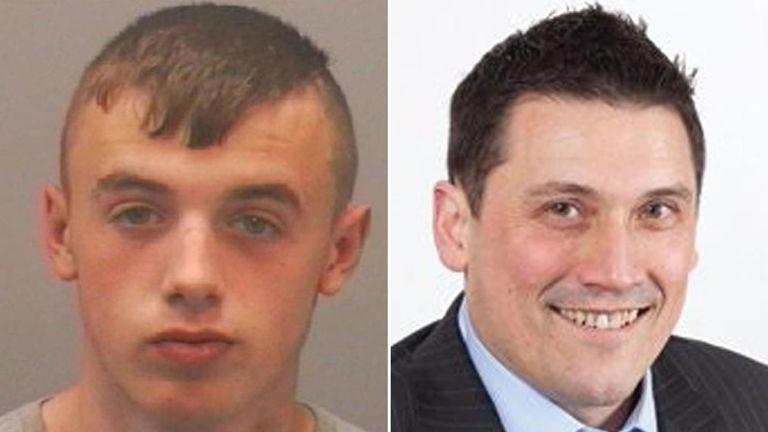 Ewan Ireland murdered Peter Duncan with a stolen screwdriver