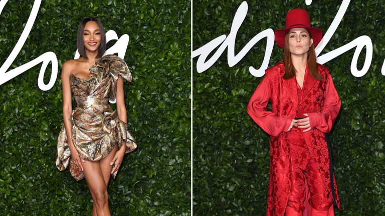 jourdan Dunn attends The Fashion Awards 2019 at the Royal Albert Hall on December 02, 2019 in London, England. (Photo by Karwai Tang/WireImage)