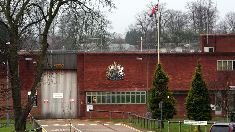 Feltham Young Offenders Institution in west London. File pic