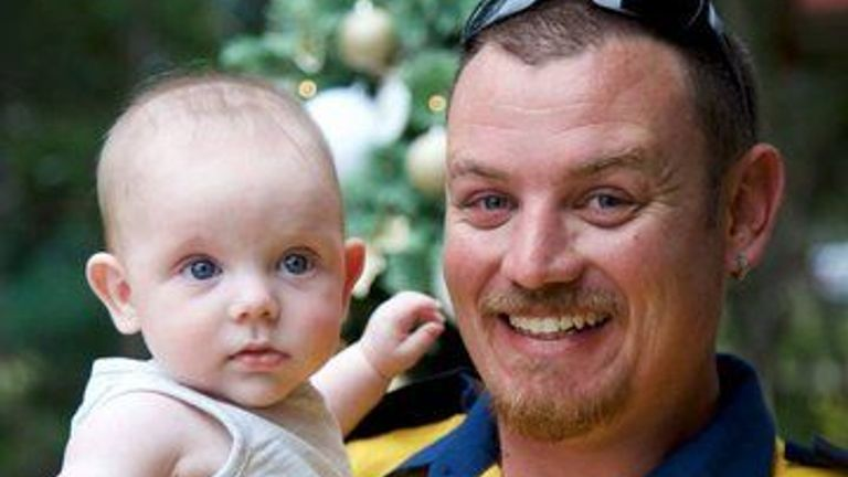 Geoffrey Keaton was killed after a fire truck he was in crashed. Pic: New South Wales Rural Fire Service