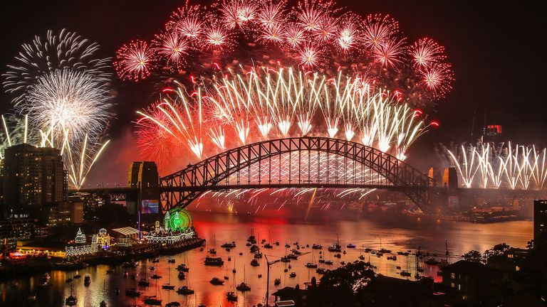 Around £3m was spent on Sydney's firework display last year
