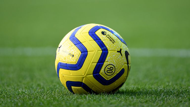 "A detail view of a Nike Premier League matchball during the Premier League match at Carrow Road, Norwich. PA Photo. Picture date: Sunday December 8, 2019. See PA story SOCCER Norwich. Photo credit should read: Joe Giddens/PA Wire. RESTRICTIONS: EDITORIAL USE ONLY No use with unauthorised audio, video, data, fixture lists, club/league logos or ""live"" services. Online in-match use limited to 120 images, no video emulation. No use in betting, games or single club/league/player publications."