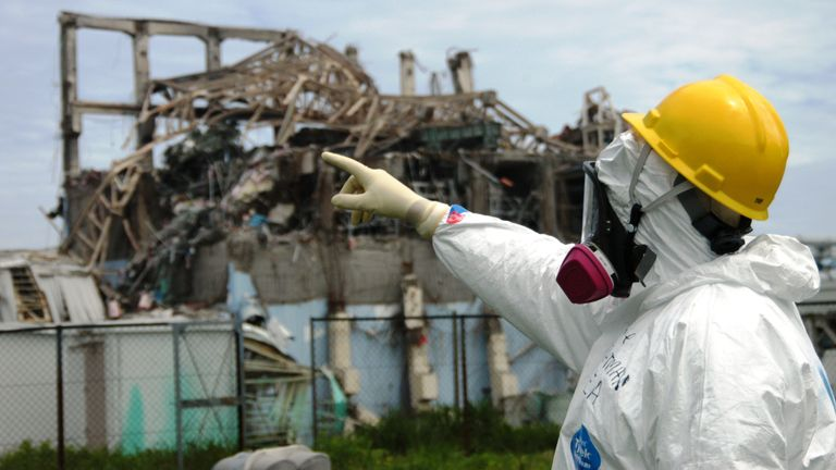 The earthquake and tsunami triggered the second worst nuclear disaster in history