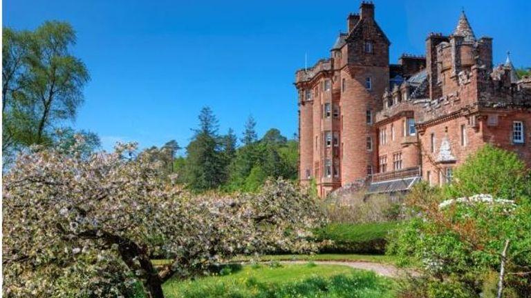 Glenborrodale Castle in the Highland area of Scotland. Pic: Bell Ingram