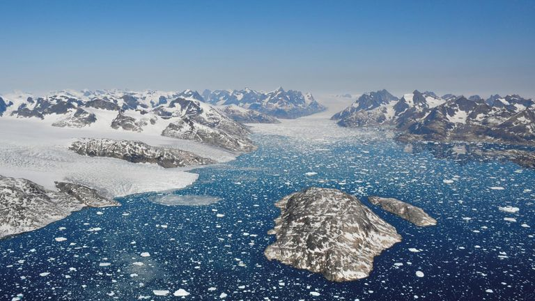 Ice loss in Greenland has resulted in global sea levels rising by around 10.6mm, the study found