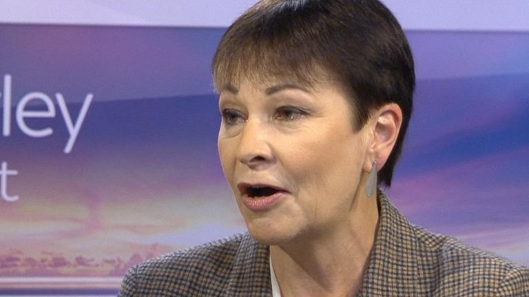 Caroline Lucas wants to put nature and wildlife high on the political agenda