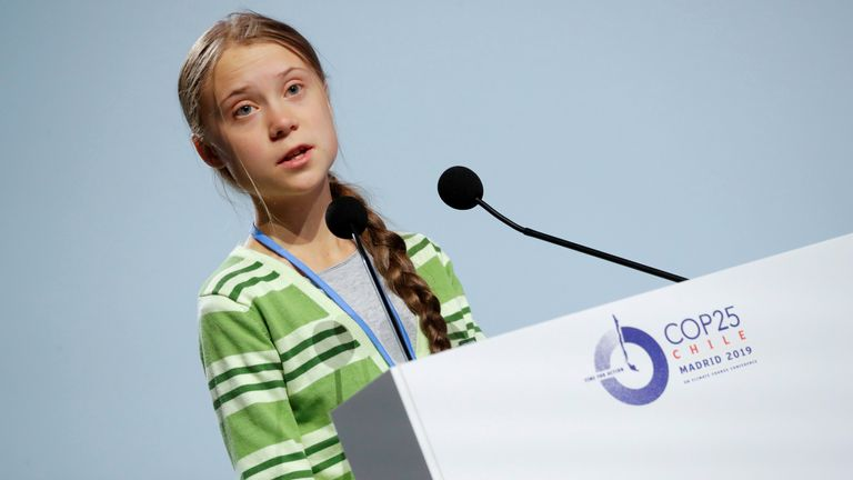 Greta Thunberg said political leaders are misleading the public by holding negotiations that are not leading to real action