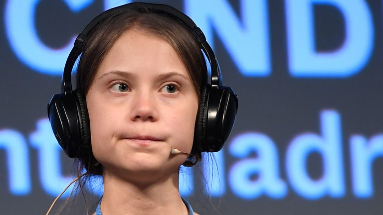Greta Thunberg said her climate calls are being 'ignored'