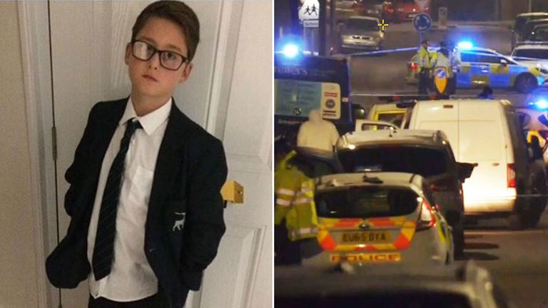 Harley Watson, 12, was killed in the collision