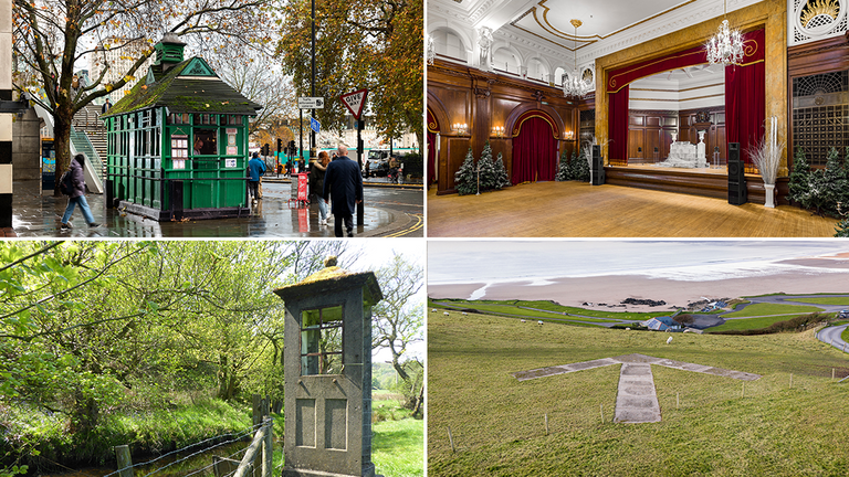The locations featuring on the new list. Pic: Historic England