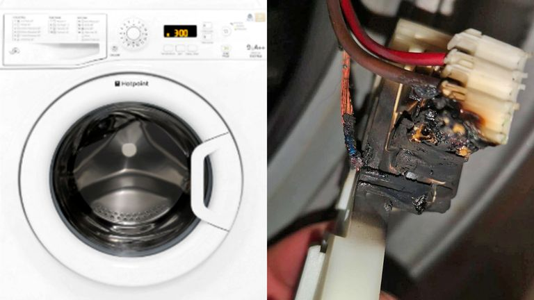 Hotpoint washing machines are among those affected